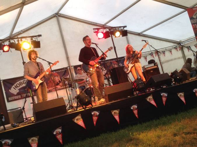 Rosetta Fire Wychwood Festival 2015