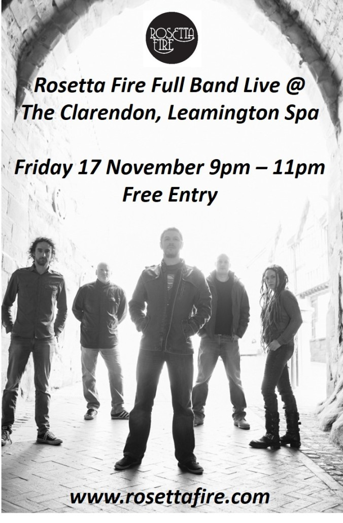 Rosetta Fire @The Clarendon poster